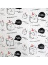 Бумага упаковочная глянцевая «Не сдох и ладно», 50 × 70 см