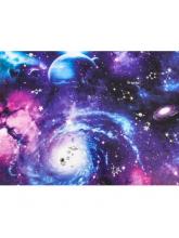 Бумага упаковочная глянцевая «Космос», 50 х 70 см