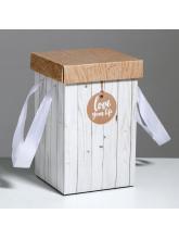 Подарочная коробка «Доски», 14 × 23 см