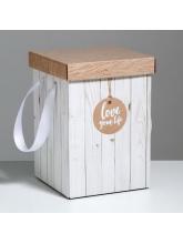 Подарочная коробка «Доски», 17 × 25 см