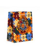 Пакет подарочный «Гарри Поттер. Герб Хогвартса», 180х227х100 мм